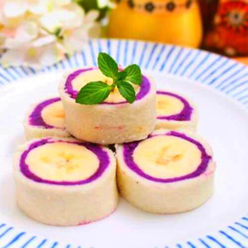 紫薯土司卷
