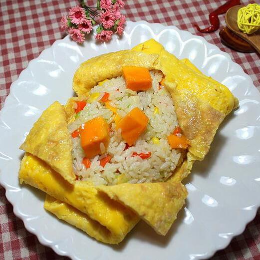 浓香正宗韩式蛋包饭