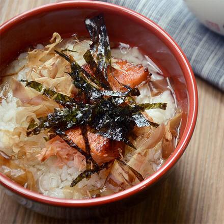 日式雕梅泡饭