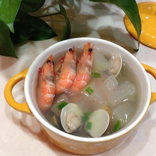 鲜美冬瓜蛤蜊肉汤