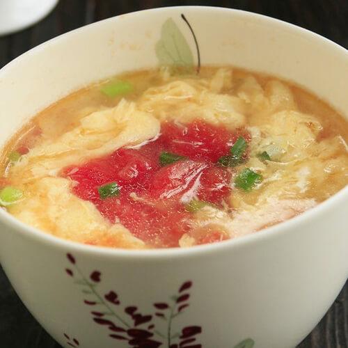妈妈做的番茄鸡蛋汤