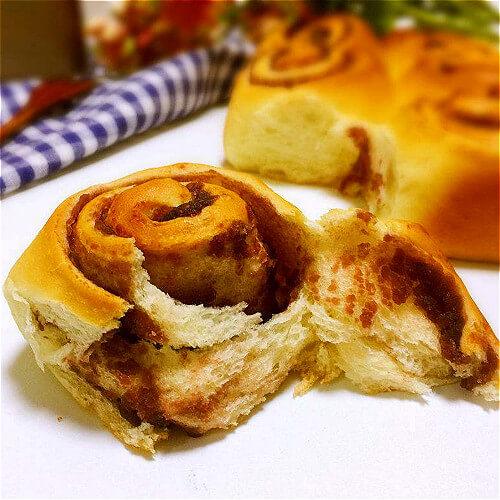 花式面包卷