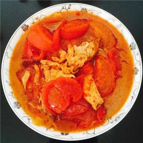 常吃不腻的番茄炒蛋