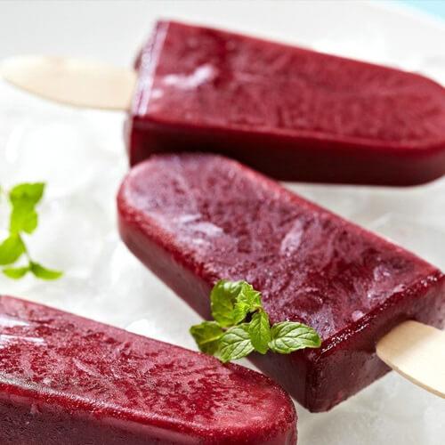 红豆椰奶冰棒