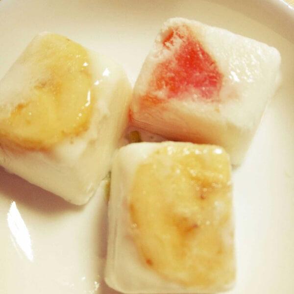 水果酸奶冰
