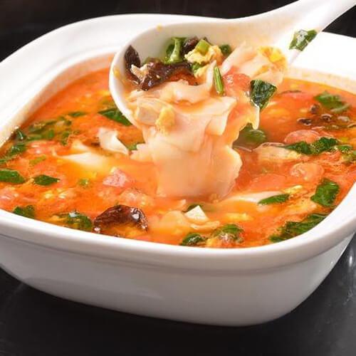 简单易做咸蛋肉片汤