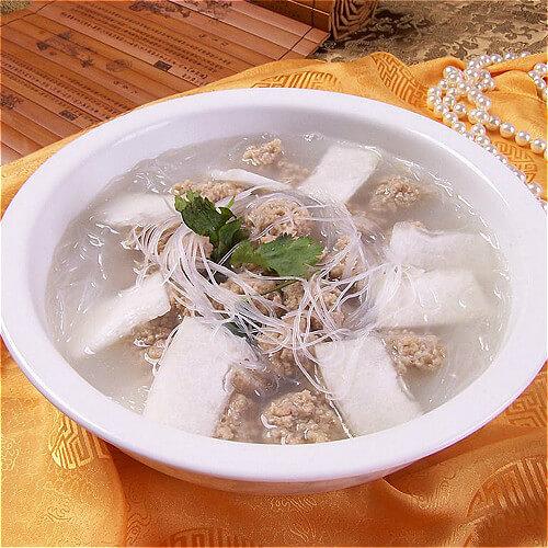 清汤氽羊肉丸