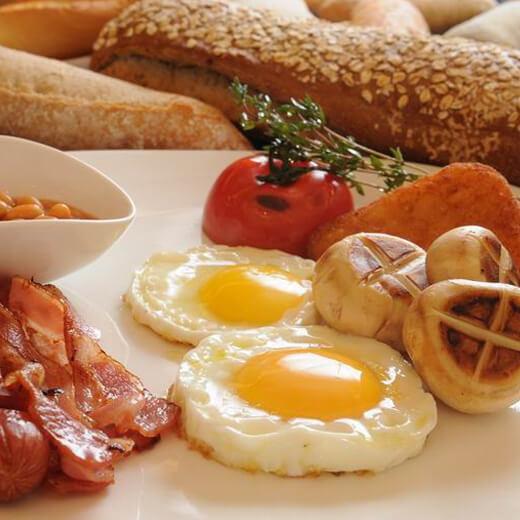 营养可口超简便美味微波炉早餐