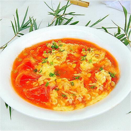自己做的番茄蛋汤