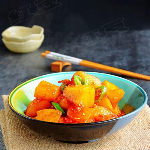 自制韩式酱土豆