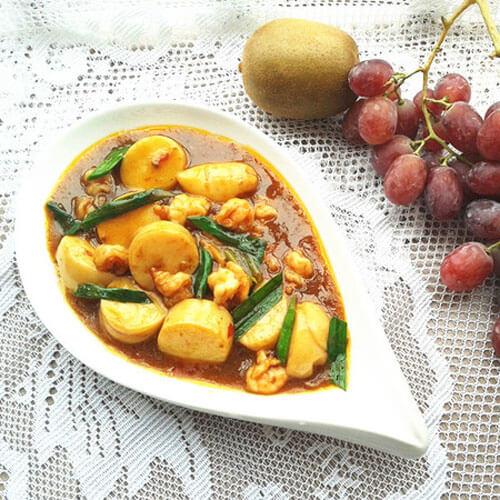 家常青丝香菇烩豆腐