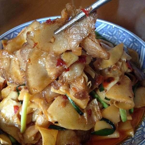 笋炒回锅肉