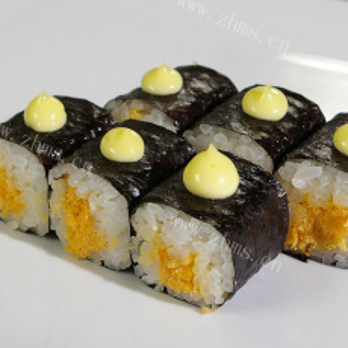 好吃的三丁肉松寿司