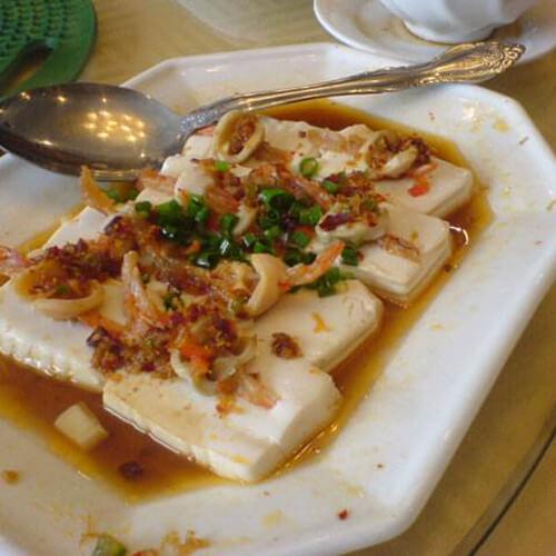 炒什锦豆腐丝