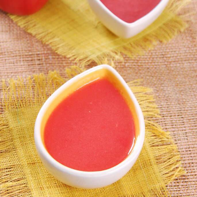 鲜榨番茄苹果汁