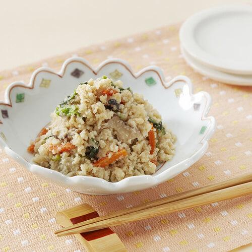 豆腐渣炒咸菜
