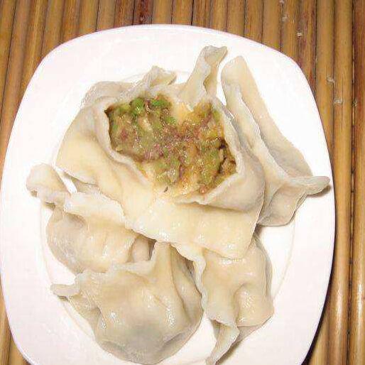 南瓜猪肉白菜饺子