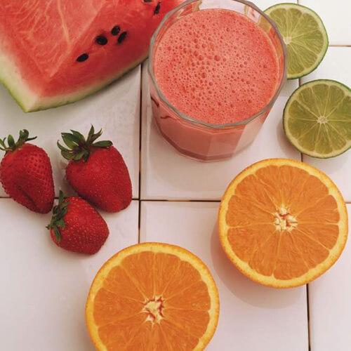 西瓜橙子汁