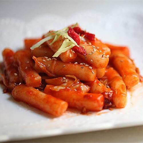 酱香卷心菜炒年糕
