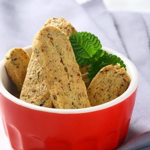 黄油海苔肉松饼干