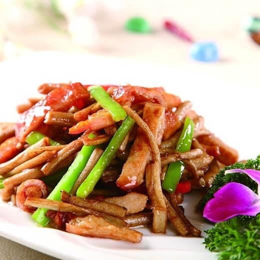 豆荚松板肉