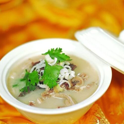 蔬菜羊杂汤