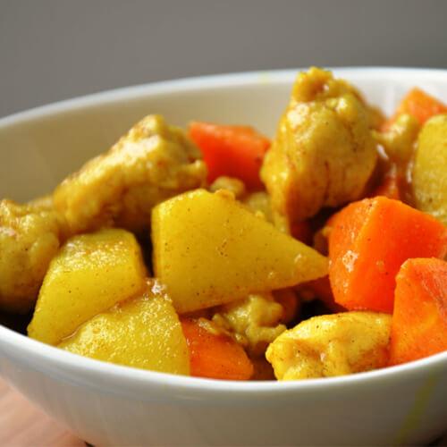 咖喱土豆(简单版)