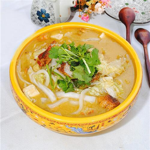 松茸白菜炖粉条