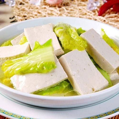 简单版白菜豆腐