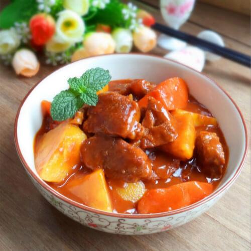 家常菜土豆牛肉