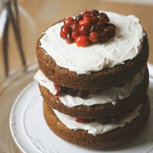 家有大厨之蔓越莓蛋糕