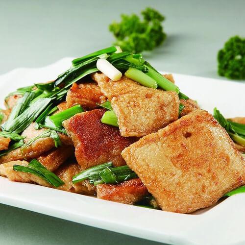 肉炒煎豆腐