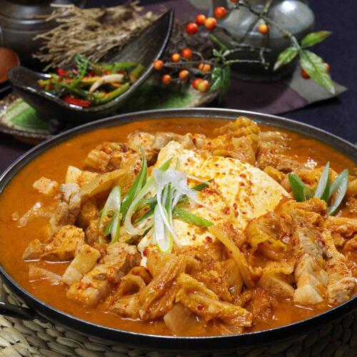 清爽的韩国菜