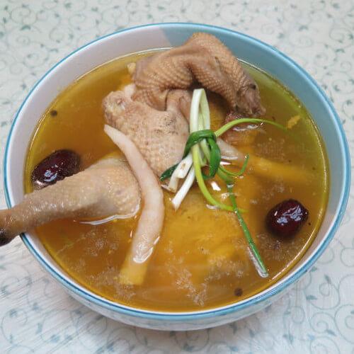 养生药膳鸡汤