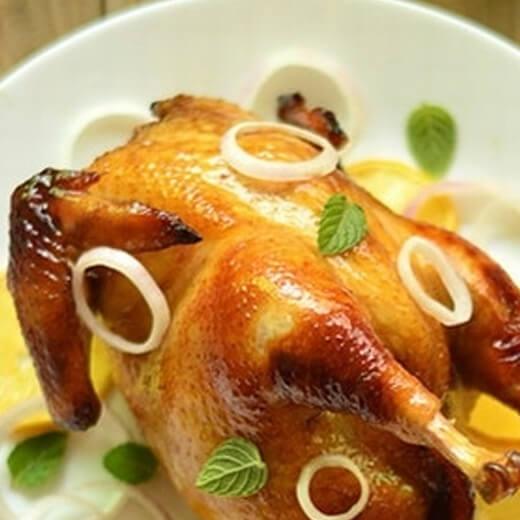 圣诞大餐之烤整鸡
