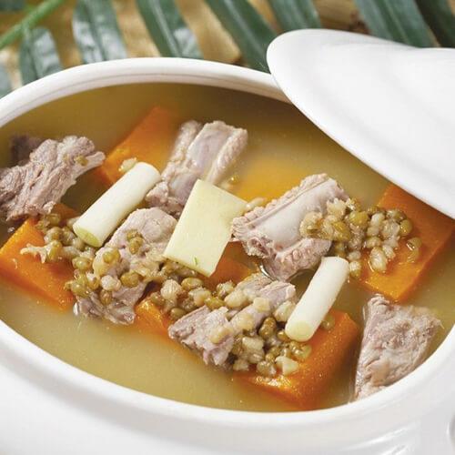 老黄瓜排骨薏米汤