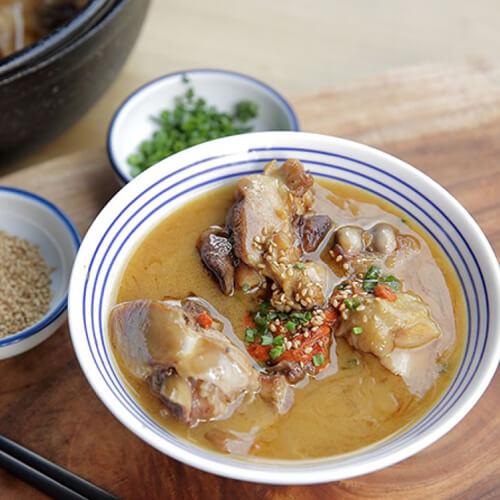 美味的台湾麻油鸡