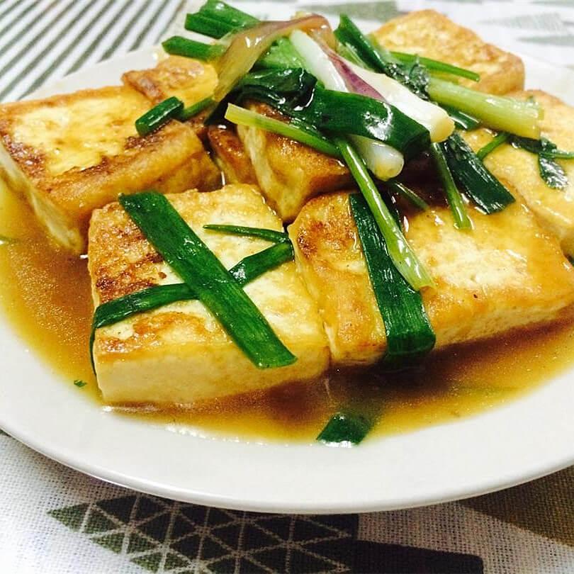 素煎嫩豆腐