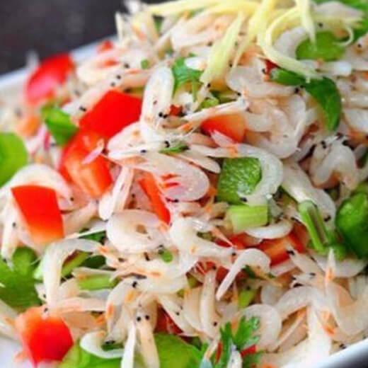 美味虾皮椰菜花