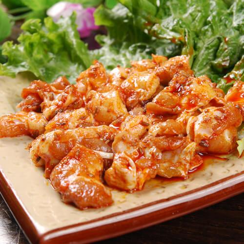 彩椒烤鸡脆骨