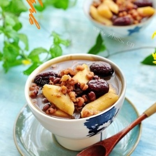 红豆薏米山药汤