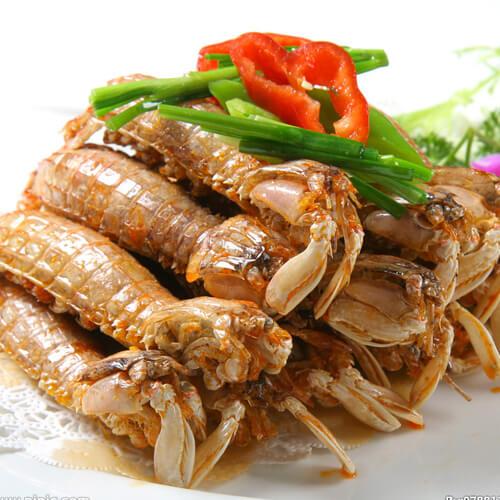 沙茶酱虾蛄