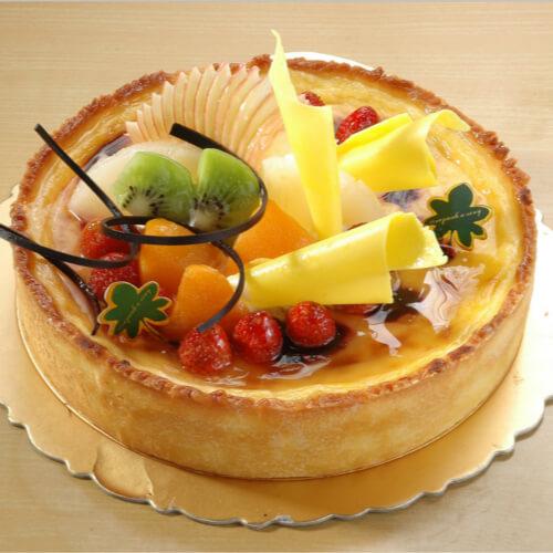 简单易做的水果蛋糕