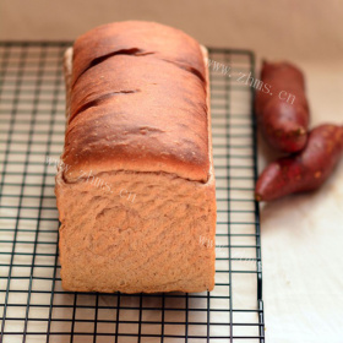 红薯早餐面包