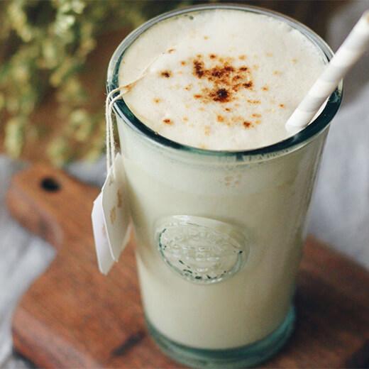 热饮蜂蜜牛奶