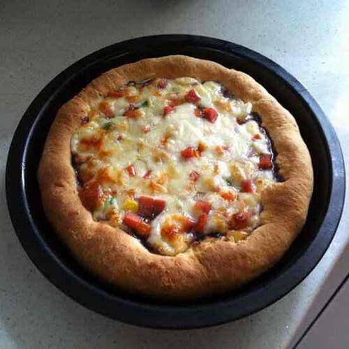 爆浆蓝莓披萨