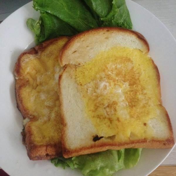 蛋奶面包片