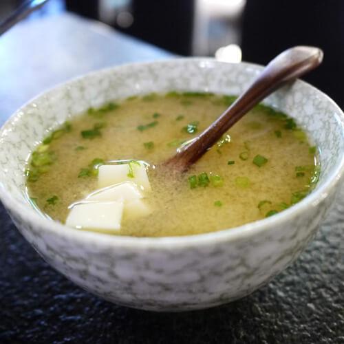 白菜昆布味增汤