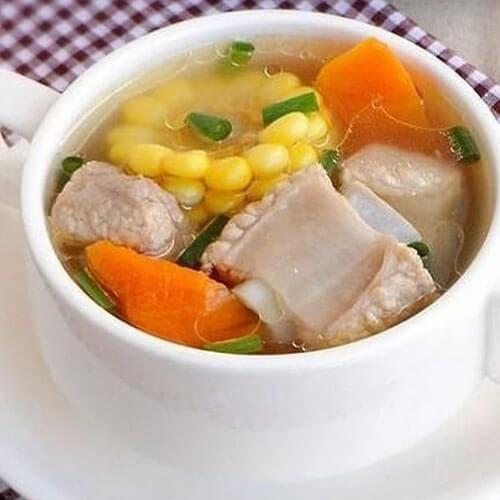 特色美食萝卜排骨汤