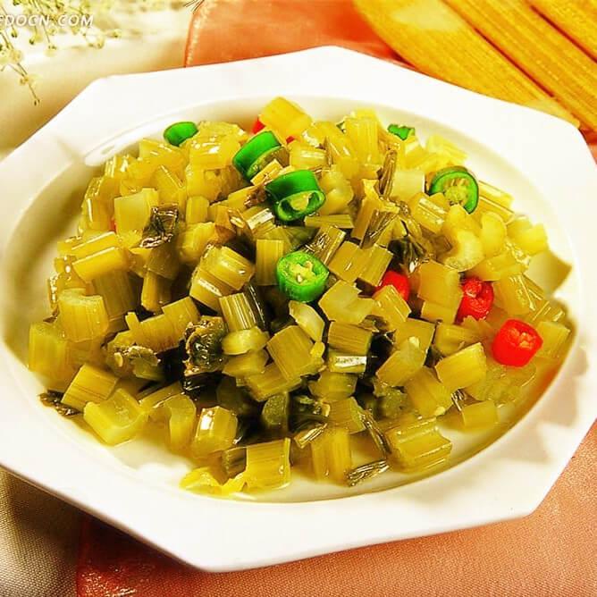 超级好吃的农家酸菜